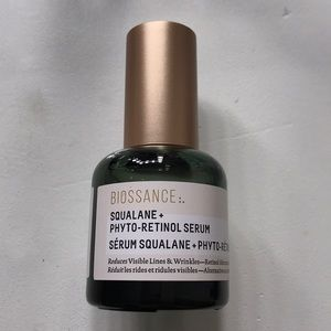 Biossance Squalane + Phyto-Retinol Serum.